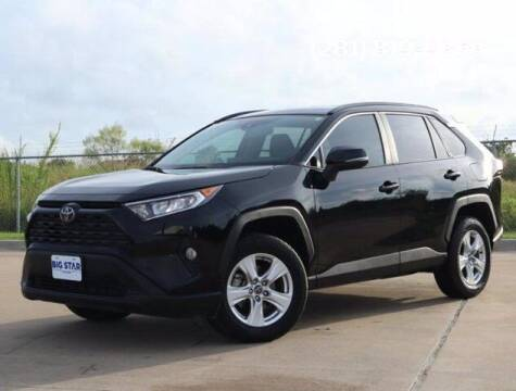 2021 Toyota RAV4 for sale at BIG STAR HYUNDAI in Houston TX