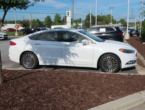 2017 Ford Fusion for sale at Southern Auto Solutions - BMW of South Atlanta in Marietta GA