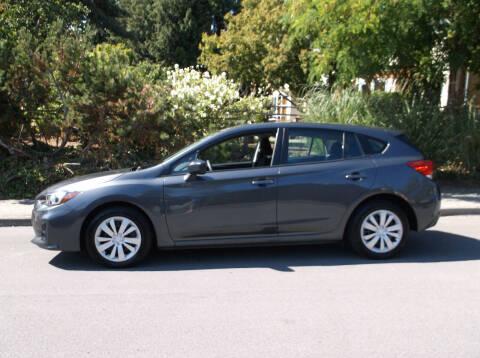 2019 Subaru Impreza for sale at Eastside Motor Company in Kirkland WA