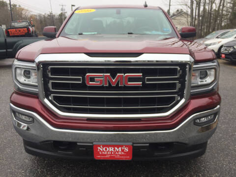 2016 GMC Sierra 1500 for sale at NORM'S USED CARS INC - Trucks By Norm's in Wiscasset ME