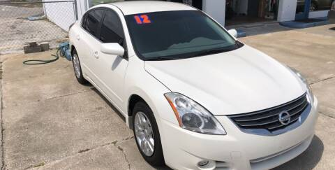 2012 Nissan Altima for sale at Moye's Auto Sales Inc. in Leesburg FL