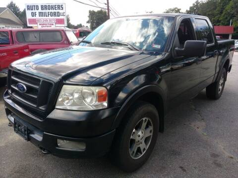 2004 Ford F-150 for sale at Auto Brokers of Milford in Milford NH