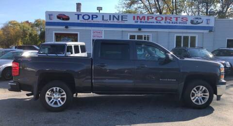 2015 Chevrolet Silverado 1500 for sale at Top Line Import of Methuen in Methuen MA