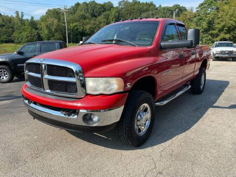 2005 Dodge Ram Pickup 2500 for sale at Monroe Auto's, LLC in Parsons TN