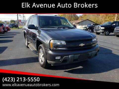 2004 Chevrolet TrailBlazer for sale at Elk Avenue Auto Brokers in Elizabethton TN