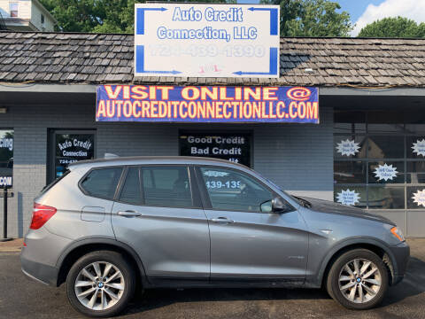 2013 BMW X3 for sale at Auto Credit Connection LLC in Uniontown PA