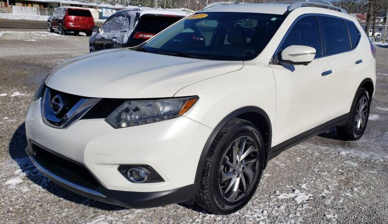 2015 Nissan Rogue for sale at COOPER AUTO SALES in Oneida TN