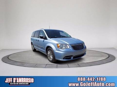 2016 Chrysler Town and Country for sale at Jeff D'Ambrosio Auto Group in Downingtown PA
