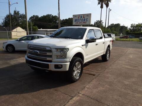 2015 Ford F-150 for sale at J & L Motors in Pascagoula MS