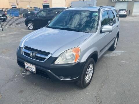 2002 Honda CR-V for sale at 101 Auto Sales in Sacramento CA