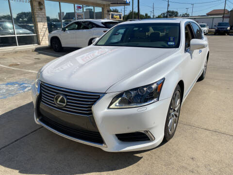 2016 Lexus LS 460 for sale at Houston Auto Gallery in Katy TX