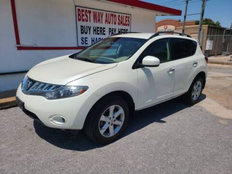 2009 Nissan Murano for sale at Best Way Auto Sales II in Houston TX
