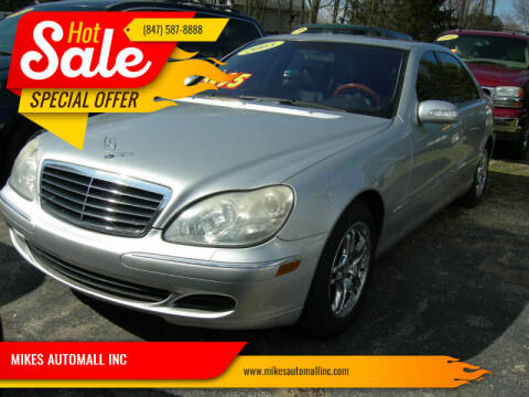 2003 Mercedes-Benz S-Class for sale at MIKES AUTOMALL INC in Ingleside IL