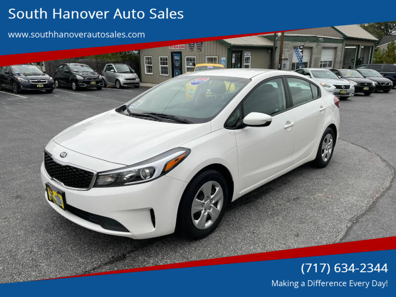 2017 Kia Forte for sale at South Hanover Auto Sales in Hanover PA