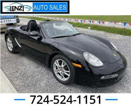 2006 Porsche Boxster for sale at LENZI AUTO SALES in Sarver PA