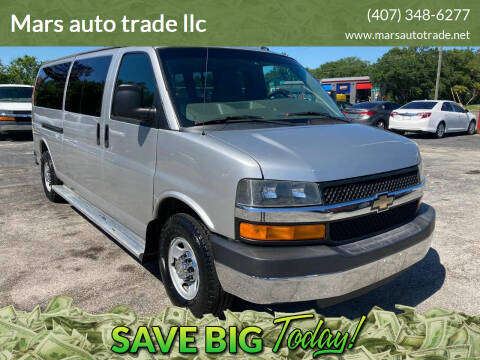 2012 Chevrolet Express Passenger for sale at Mars auto trade llc in Kissimmee FL