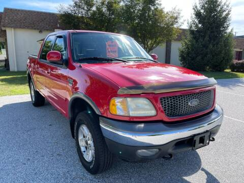 2003 Ford F-150 for sale at CROSSROADS AUTO SALES in West Chester PA