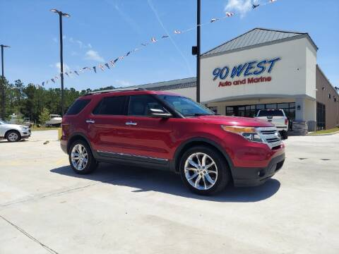 2013 Ford Explorer for sale at 90 West Auto & Marine Inc in Mobile AL