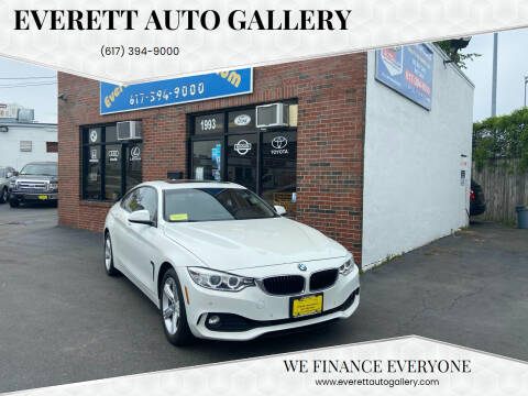 2015 BMW 4 Series for sale at Everett Auto Gallery in Everett MA