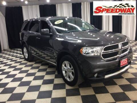 2013 Dodge Durango for sale at SPEEDWAY AUTO MALL INC in Machesney Park IL