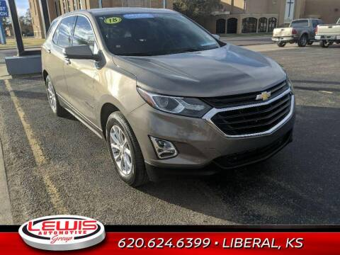 2018 Chevrolet Equinox for sale at Lewis Chevrolet Buick Cadillac of Liberal in Liberal KS
