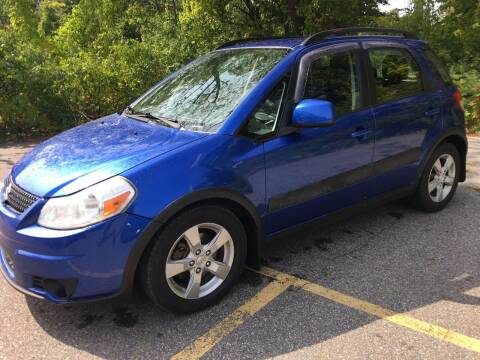 2012 Suzuki SX4 Crossover for sale at BRATTLEBORO AUTO SALES in Brattleboro VT