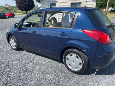 2008 Nissan Versa for sale at CESSNA MOTORS INC in Bedford PA