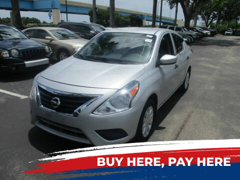2016 Nissan Versa for sale at K & V AUTO SALES LLC in Hollywood FL