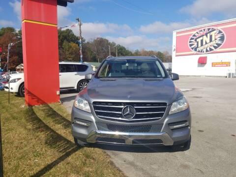 2012 Mercedes-Benz M-Class for sale at AUTOPLEX 528 LLC in Huntsville AL