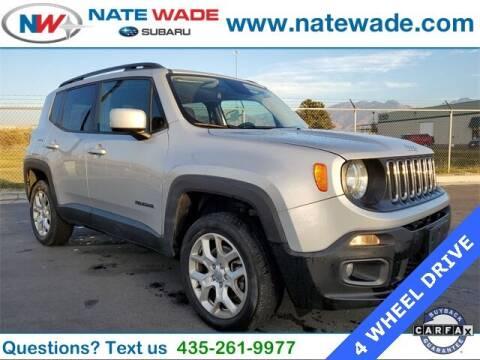 2016 Jeep Renegade for sale at NATE WADE SUBARU in Salt Lake City UT