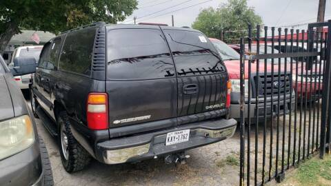 2003 Chevrolet Suburban for sale at C.J. AUTO SALES llc. in San Antonio TX