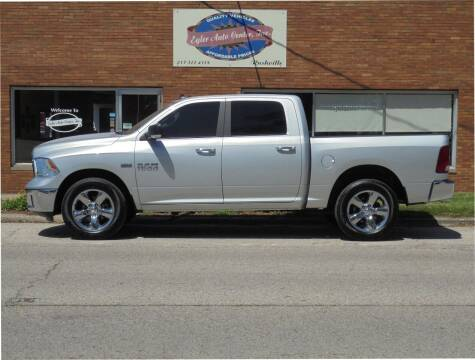 2017 RAM Ram Pickup 1500 for sale at Eyler Auto Center Inc. in Rushville IL