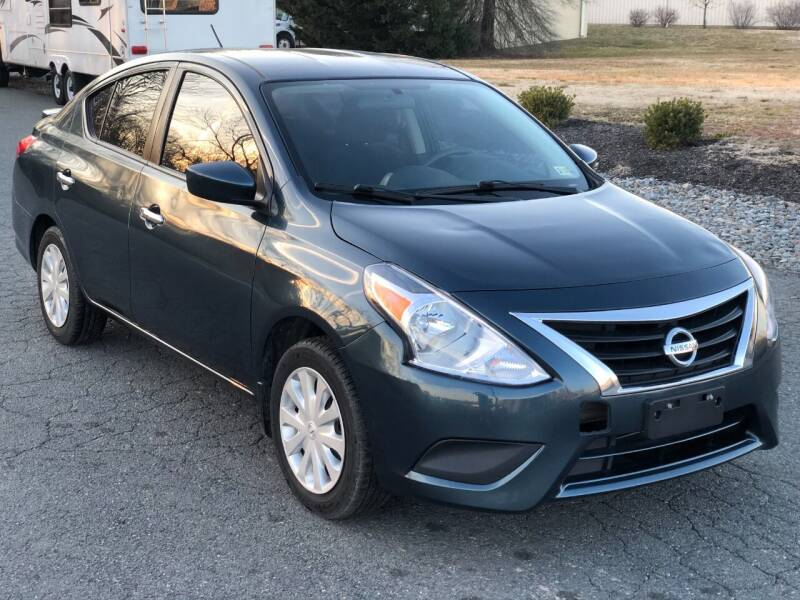 2017 Nissan Versa for sale at ECONO AUTO INC in Spotsylvania VA