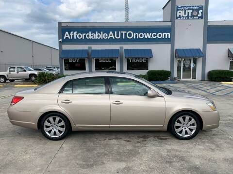2007 Toyota Avalon for sale at Affordable Autos in Houma LA