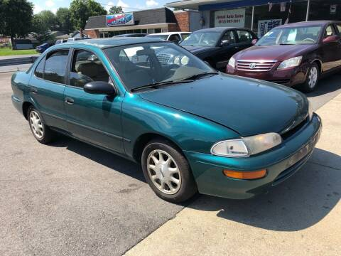 1996 GEO Prizm for sale at Wise Investments Auto Sales in Sellersburg IN