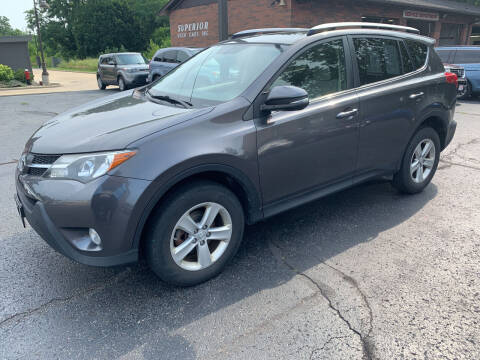 2013 Toyota RAV4 for sale at Superior Used Cars Inc in Cuyahoga Falls OH