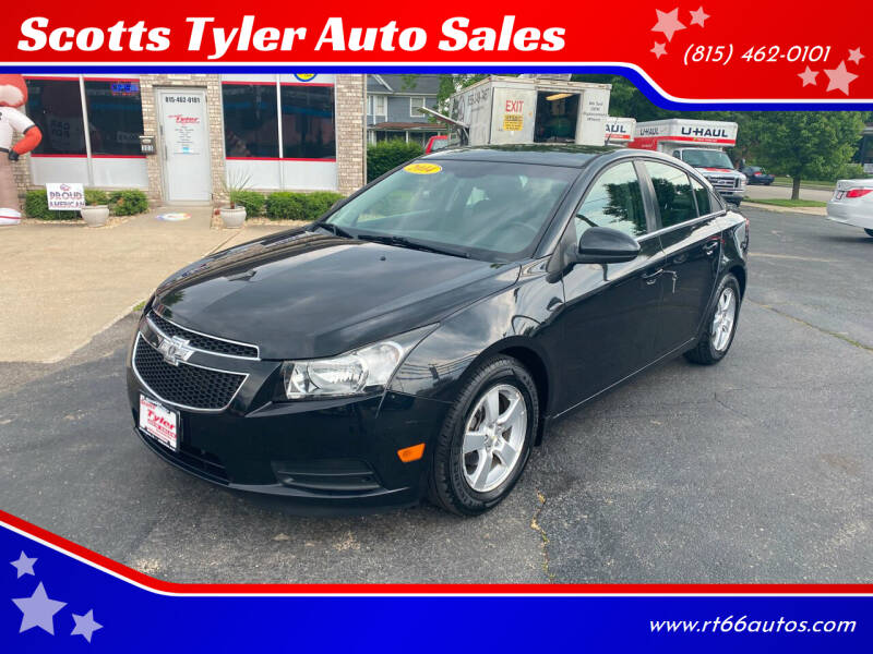 2014 Chevrolet Cruze for sale at Scotts Tyler Auto Sales in Wilmington IL
