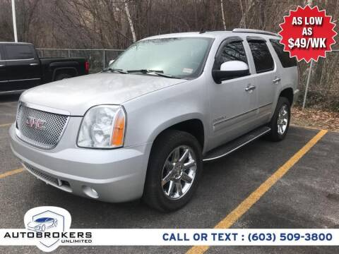 2010 GMC Yukon for sale at Auto Brokers Unlimited in Derry NH