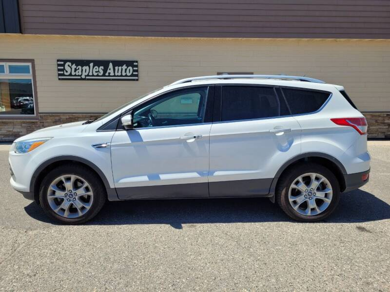 2013 Ford Escape for sale at STAPLES AUTO SALES in Staples MN