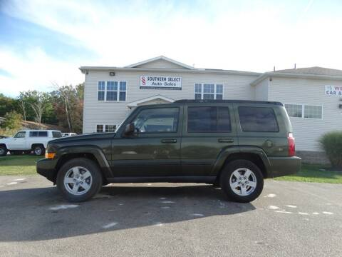 2007 Jeep Commander for sale at SOUTHERN SELECT AUTO SALES in Medina OH