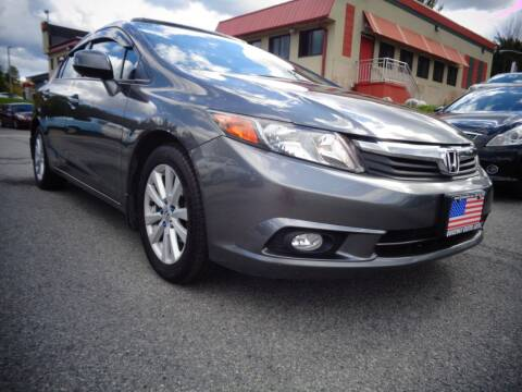 2012 Honda Civic for sale at Quickway Exotic Auto in Bloomingburg NY