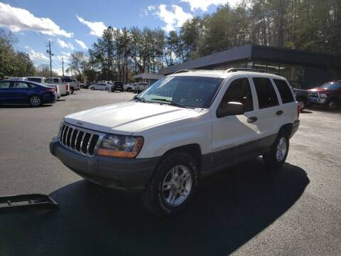 2002 Jeep Grand Cherokee for sale at Curtis Lewis Motor Co in Rockmart GA