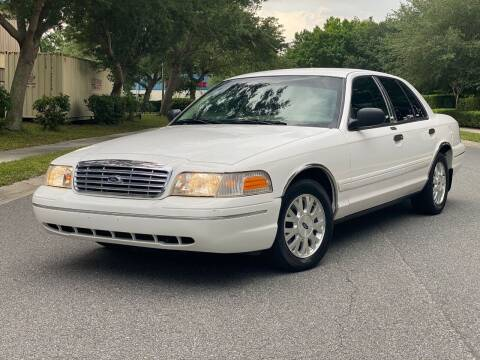 2004 Ford Crown Victoria for sale at Presidents Cars LLC in Orlando FL
