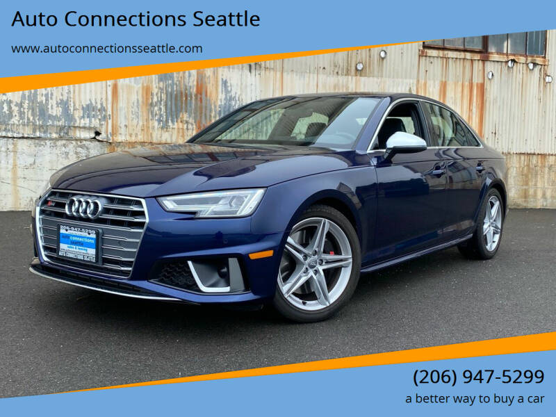 2019 Audi S4 for sale at Auto Connections Seattle in Seattle WA