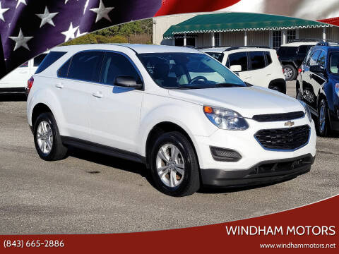 2016 Chevrolet Equinox for sale at Windham Motors in Florence SC