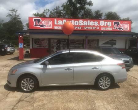 2014 Nissan Sentra for sale at LA Auto Sales in Monroe LA