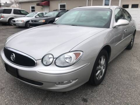 2007 Buick LaCrosse for sale at Volare Motors in Cranston RI