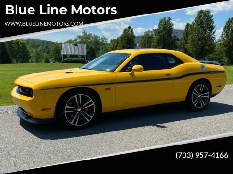 2012 Dodge Challenger for sale at Blue Line Motors in Winchester VA