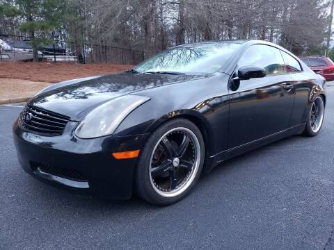 2004 Infiniti G35 for sale at Gwinnett Luxury Motors in Buford GA