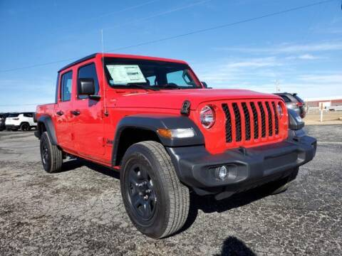 2021 Jeep Gladiator for sale at Vance Fleet Services in Guthrie OK